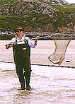Fishing for wild Atlantic salmon at Uig Lodge